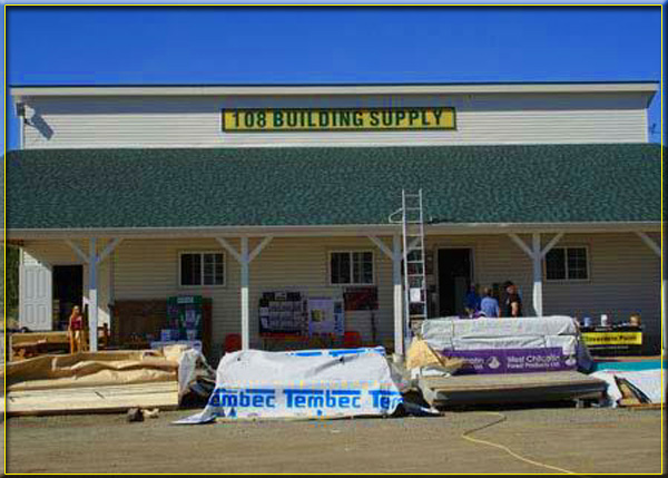 Irly Building Centres - 108 Building Supply, 108 Mile Ranch, BC - Phone 250-791-5244