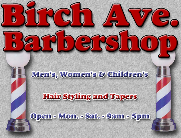 Birch Ave. Barbershop, 100 Mile House, BC